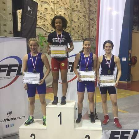 Hilary Honorine, championne de France junior en 55kg